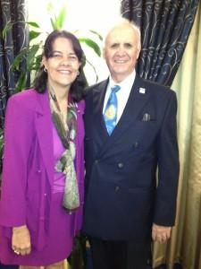 Richard W. Strait '76 and Marcia L. Martinez-Strait, MS '77