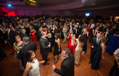 Guests dance after dinner at the 14th Annual Torch Awards Gala.