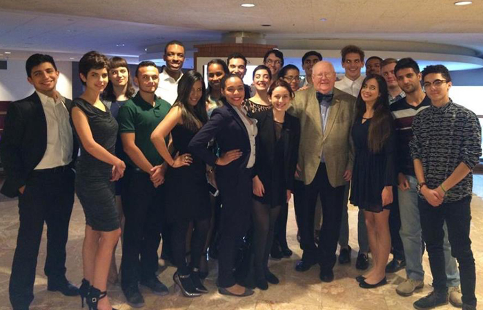 "FIU's Model UN team took ""Outstanding Large Delegation"" at the Harvard National Model United Nations in February 2015."