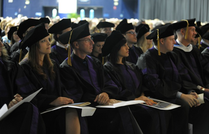 Graduating from the FIU College of Law is a bit easier for those who benefit from an alumni-driven evening-school scholarship