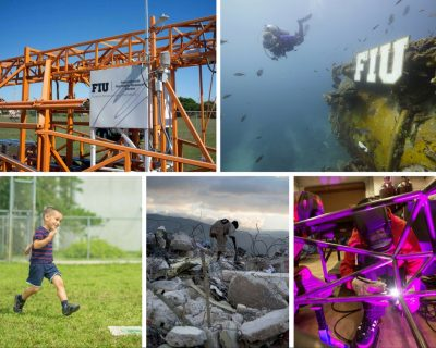 FIU's preeminent programs demonstrate extraordinary success in providing unique learning opportunities, pioneering research and engagement.