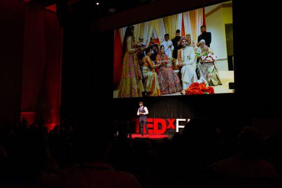 Omar Durrani at FIU TEDx