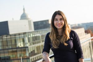 FIU student Isabela Corzo