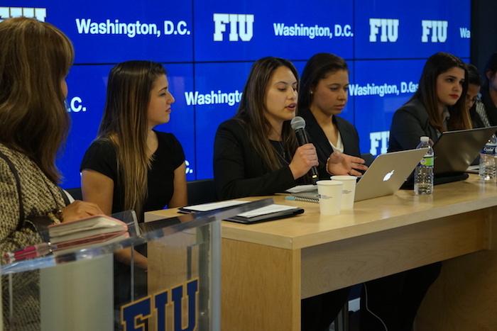 FIU women leaders in D.C.