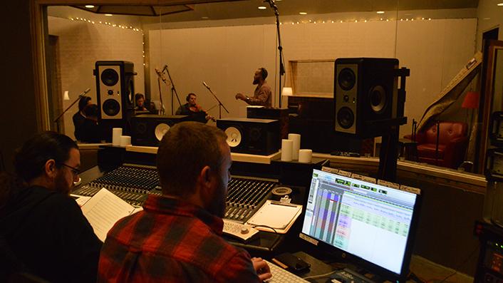 Norris FIU in studio