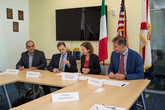 FIU and Universita per Stranieri di Perugia sign MOU