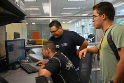 Marino Campus working with FIU Embrace