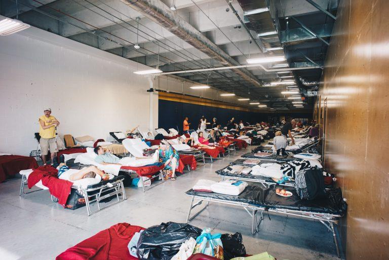 Hurricane Irma shelter at FIU