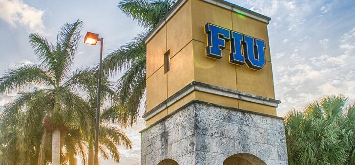 FIU entrance