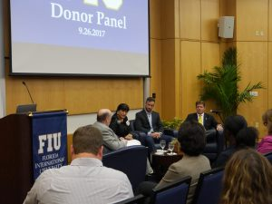 Donor panel discussion