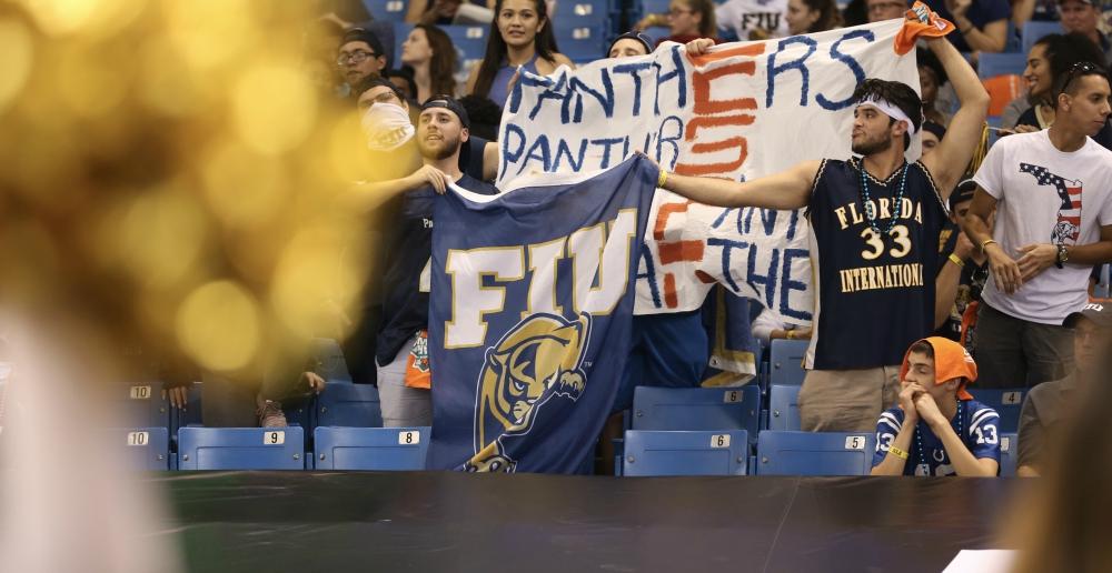 FIU fans at Gasparilla Bowl