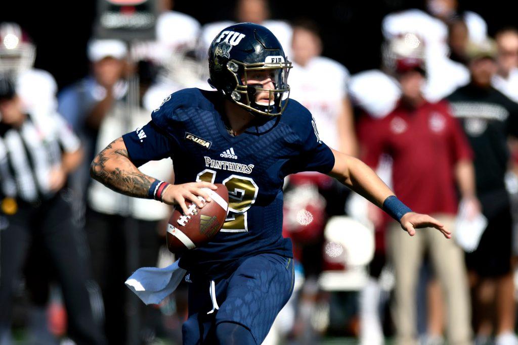 FIU Quarterback Alex McGough