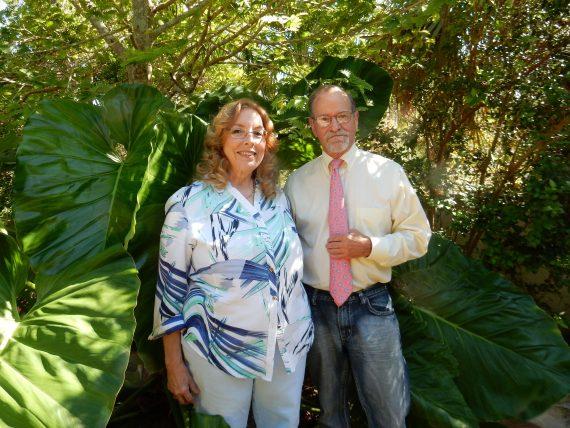 FIU Emeritus Professor Walter Goldberg and his wife, Rosalie
