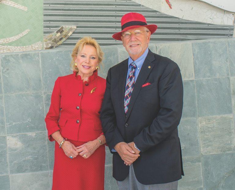 Nicole and Dr. Herbert Wertheim
